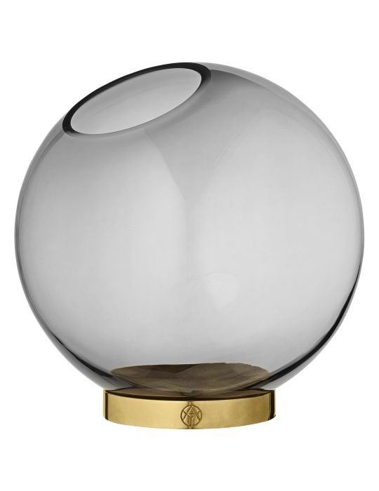 AYTM Globe Vase black large