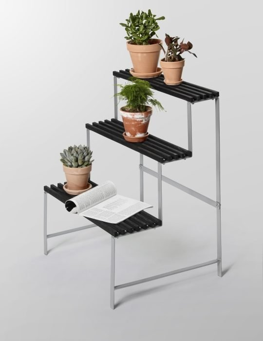 Design House Stockholm Flower pot stand Dark grey 2