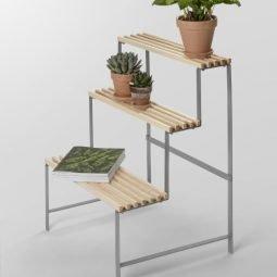 Design House Stockholm Flower pot stand ash 4