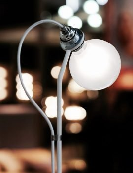 New Works Five floor lamp white 5