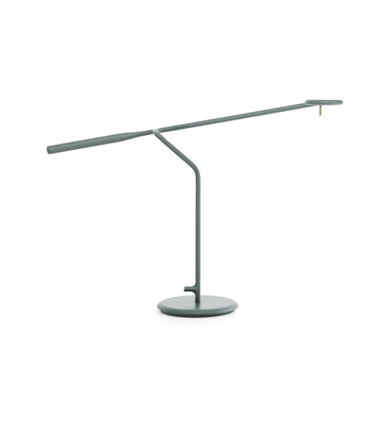 Normann Copenhagen Flow Table Lamp Dark Green