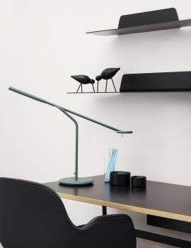 Normann Copenhagen Flow Table Lamp Dark Green 2