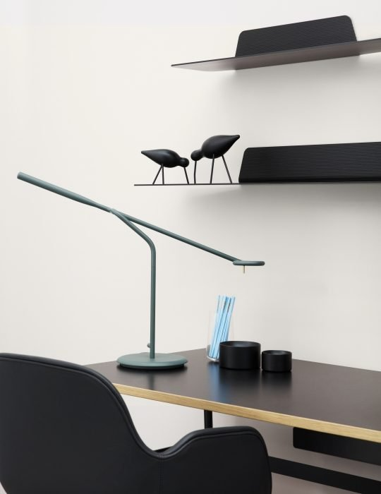 Normann Copenhagen Flow Table Lamp Dark Green 2