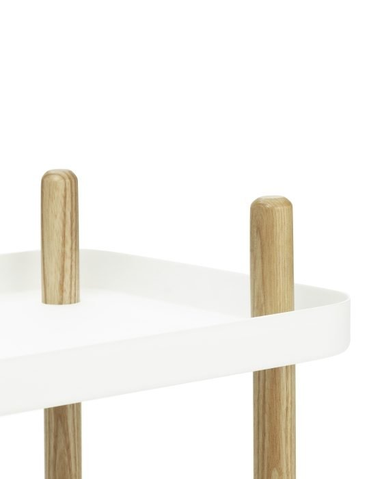 Normann Copenhagen Block Table White 5
