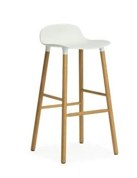 Normann Copenhagen Form Barstool Oak white 2