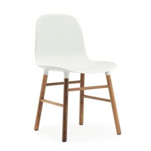 Normann Copenhagen Form Chair Walnut White