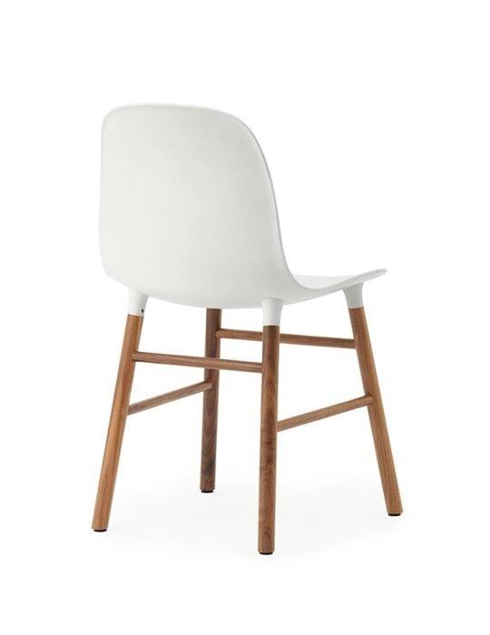 Normann Copenhagen Form Chair walnut white 4