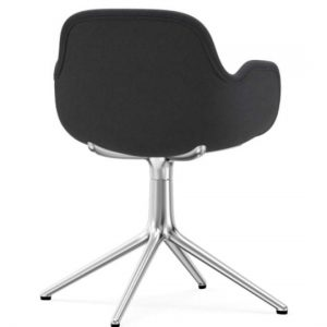 Normann Copenhagen Form Arm Chair Aluminium Upholstered Fame 60003 Grey 3