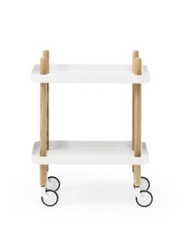 Normann Copenhagen Block Table White 3