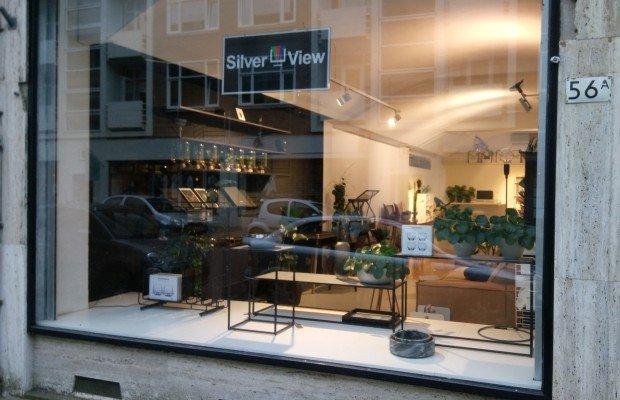 Silverview winkel etalage