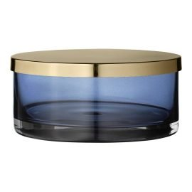 Tota cylinder jar with lid Navy