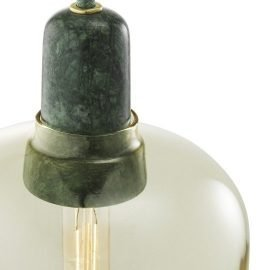 Normann Copenhagen Amp Lamp Large Gold Green 2