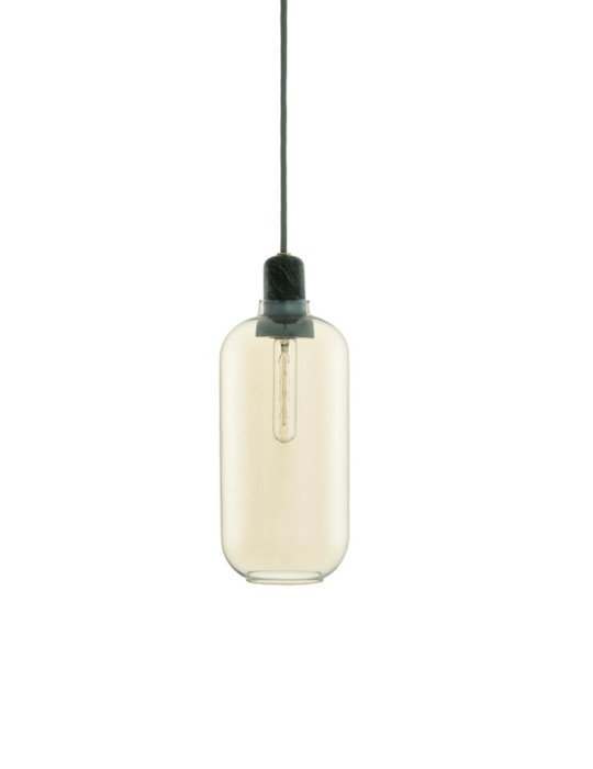 Normann Copenhagen Amp Lamp Large Gold Green