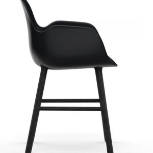 Normann Copenhagen Form Chair Black Black 2