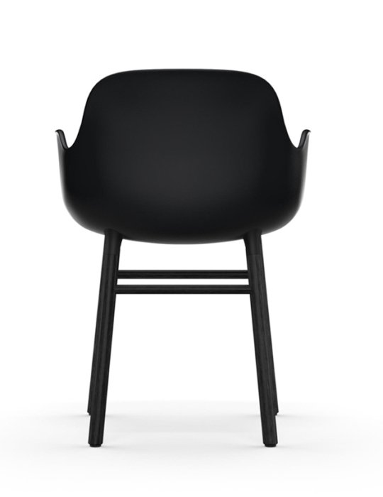 Normann Copenhagen Form Chair Black Black 3
