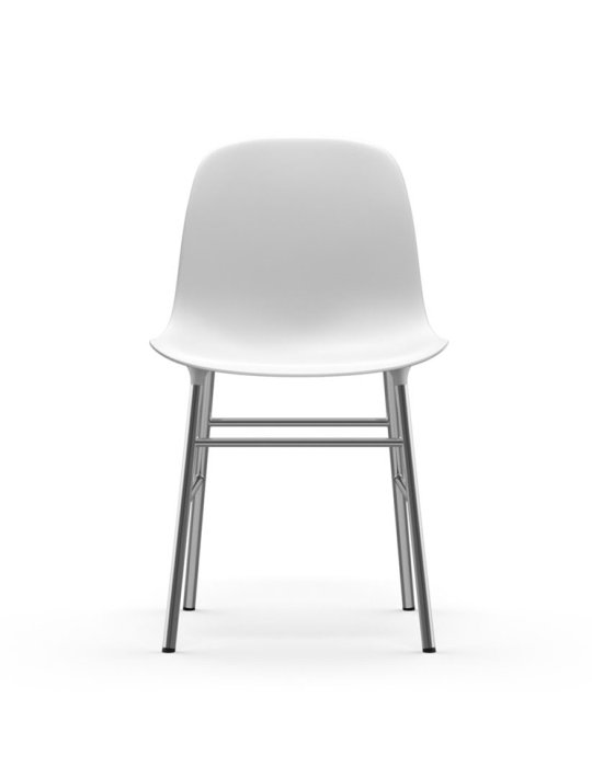 Normann Copenhagen Form Chair Chrome White 2
