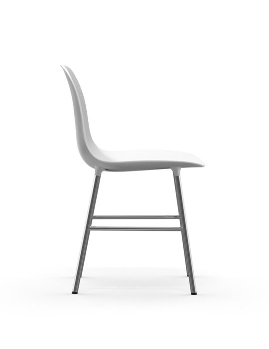 Normann Copenhagen Form Chair Chrome White 3