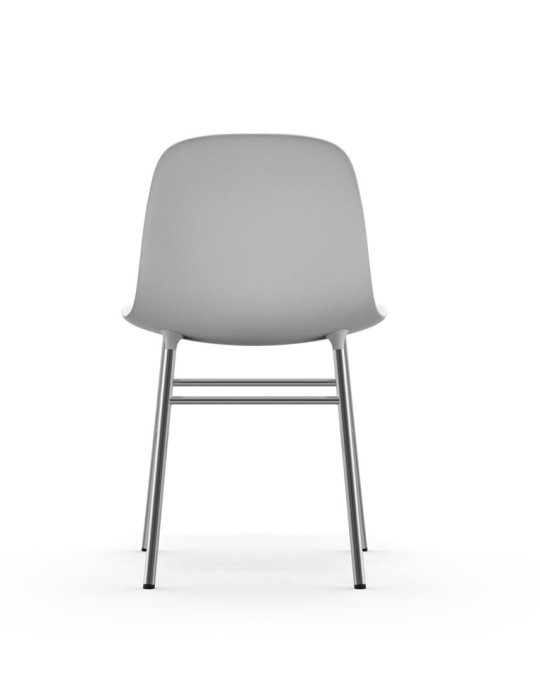 Normann Copenhagen Form Chair Chrome White 4