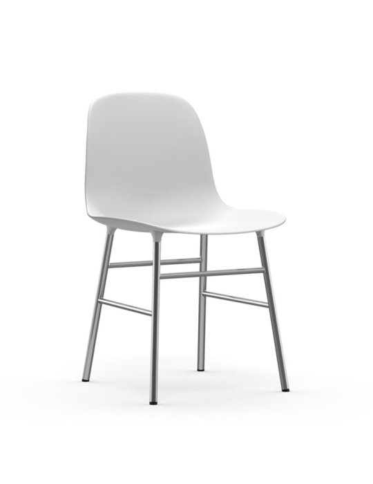 Normann Copenhagen Form Chair Chrome White
