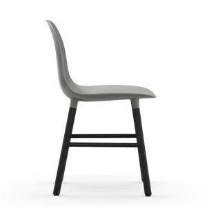 Normann Copenhagen Form Chair Black Grey 2
