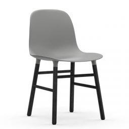 Normann Copenhagen Form Chair Black Grey 4