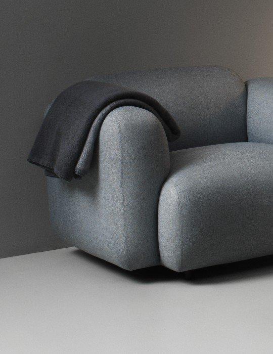 Normann Copenhagen Tint Throw Blanket grey 4