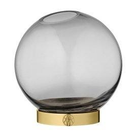 AYTM Globe vase black medium