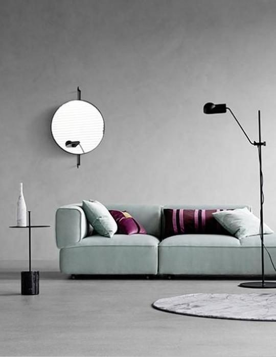 Kristina Dam Studio Rotating mirror - Won Design Poff