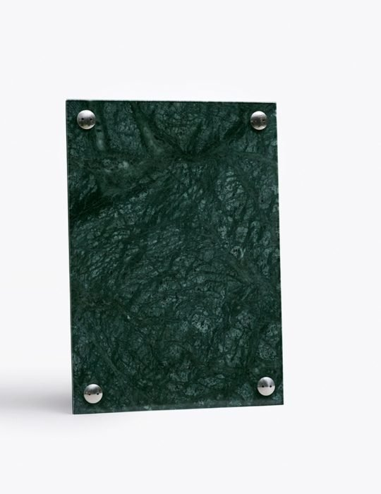 A Frame Pictureframe - Indian Green marble a4