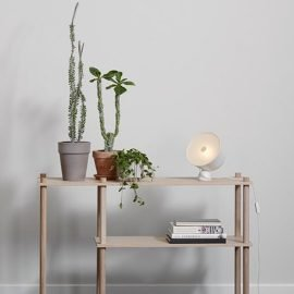 Woud Kuppi lamp white