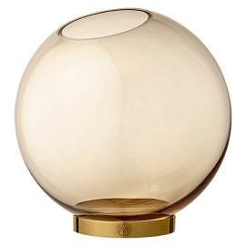 Globe Vase Amber large