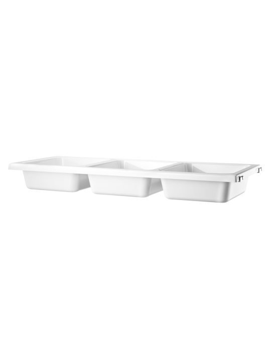 String system bowlshelf white