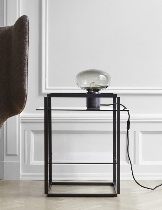 Karl-Johan Table Lamp - Black Marquina