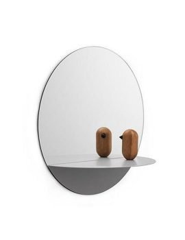 Normann Copenhagen Horizon mirror round grey2