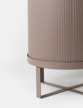 Ferm Living Bau pot dusty rose