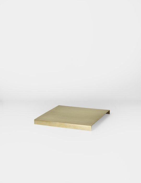 Ferm Living Tray For Plant Box Brass