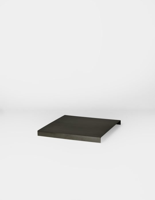 Ferm Living Tray For Plant Box Black Brass