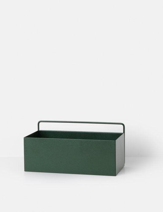 Ferm Living Plant box dark green rectangle