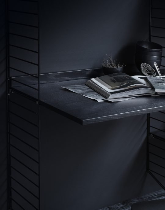 String System Work desk black