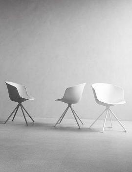 Won Design mono chair white grey
