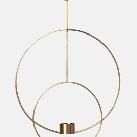 Ferm Living Hanging Tealight Deco Circular