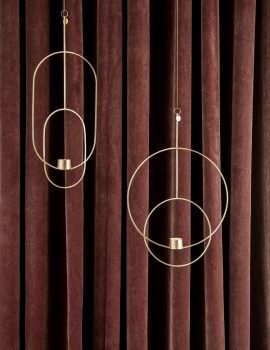 Ferm Living Hanging Tealight Deco Circular