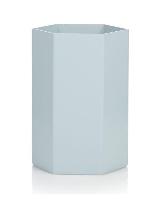 ferm-hexagon-vase-light-blue