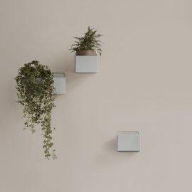Ferm Wall box Light grey square