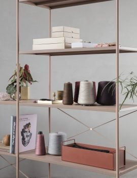 Ferm Living Small Plantbox ochre