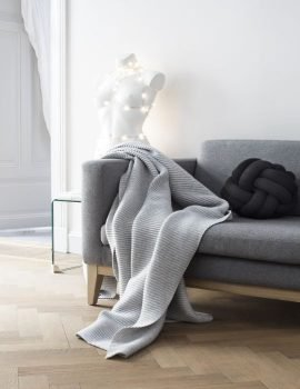 Design House Stockholm Pleece Throw