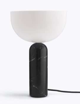 Kizu Table Lamp - Black marble