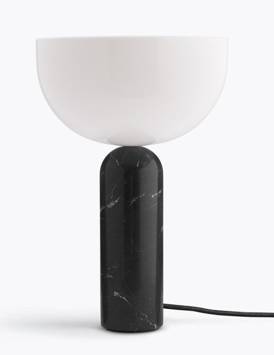 Kizu Table Lamp - Black marble