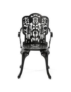 Seletti Aluminium Armchair Black