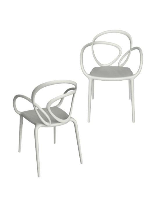 qeeboo-loop-chair-white-set
